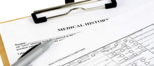 Picture of Medical paperwork